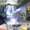 鉄骨板金加工の様子