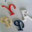 高級文字のカラーリング